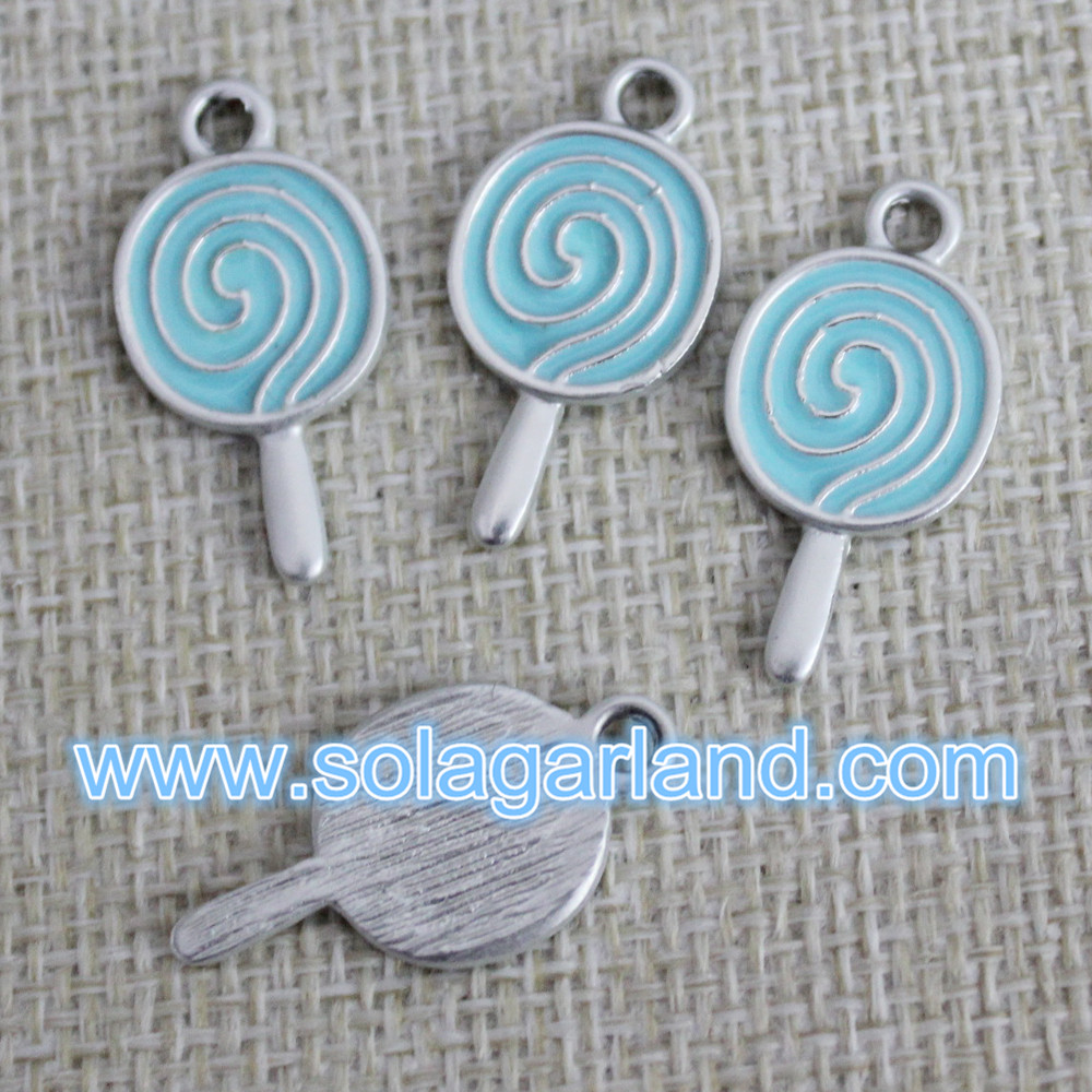Drop Oil Metal Beads Pendants