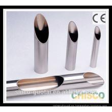 Tubo de acero inoxidable de grado alimenticio ASTM A270
