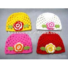 Sombreros de ganchillo / sombreros de gorrita tejida del ganchillo / sombrero hecho punto de la gorrita tejida