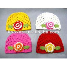 Crochet hats/infant crochet beanie hats/knitted beanie hat