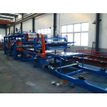 Warehouse Wand- & Dachpaneele Mineralwolle Sandwich Panel Machine