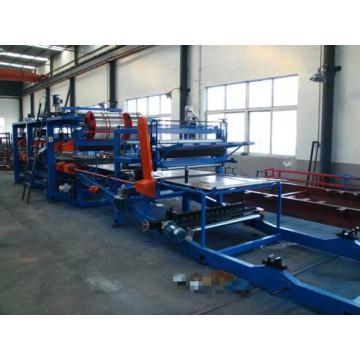 Warehouse Wall & Roof Panels Mineral Wool Sandwich Panel Machine