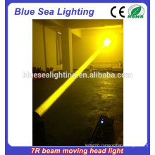 new 2015 China sharpy 230 7r beam stage light dmx moving head