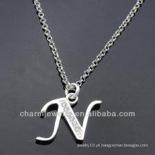 Atacado encantadora nova Design Alphabet encantos N PCC-003