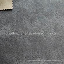 Fashion Design Breathable PU Furniture Leather (QDL-FB0048)