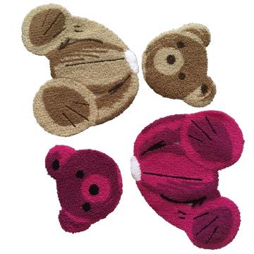 Bordado Teddy Bear Chenille costurado em Patches