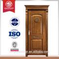 Diseño moderno de la puerta de madera puerta de madera sólida puerta principal diseño de la talla de madera