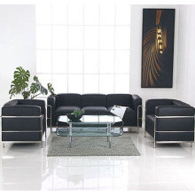 LC3 Le Corbusier Ledersofa Büro des modernen Büro Rezeption Sofas