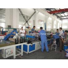2017 High Glossy Holzmaserung PVC Decke Drucklinie