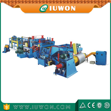 Steel Strip Cutting And Slitting Machine Line