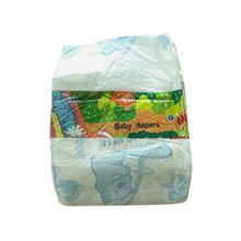 Disposable Baby Diaper with Super Absorbent Polymer