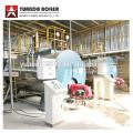0.5-20ton por hora Caldera de vapor de combustible de aceite diesel