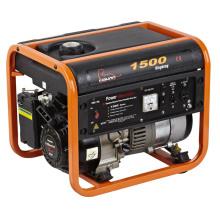 Generador aprobado de la gasolina de Wahoo de 1000watts CE con el tanque de combustible del generador plástico (WH1500)
