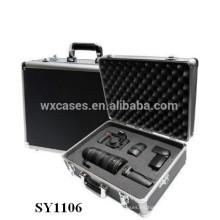 caso cámara de aluminio fuerte con espuma personalizada Introduzca por mayor