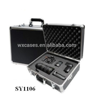 strong aluminum camera case with custom foam insert wholesale