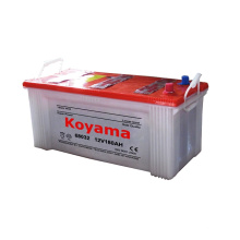 German Standard 12V 180ah Dry Charged Automobile Battery DIN 68032