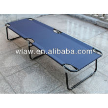 600D polyester portable adult single beds for siesta