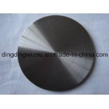 Plaque ronde en molybdène pur