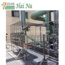 Épurateur de traitement des gaz de combustion pour le traitement de la pollution de l'air