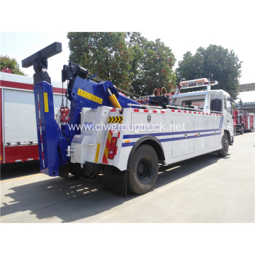 cheap dongfeng road recovery rotator tow truck