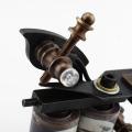 Especial tecnología CNC corte máquina de tatuaje de bobina de bronce hechos a mano