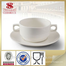 Wholesale royal ceramic product, disposable soup bowl
