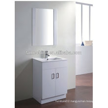New MDF bathroom furniture Glass basin hinges for doors cabinet