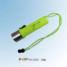 CREE Xr-E Q5 LED Ipx8 Diving Flashlight (POPPAS- F95)