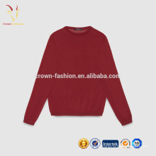 Pure Color Pure Cashmere Kids Cashmere Pullover Sweater Crew Neck Sweater