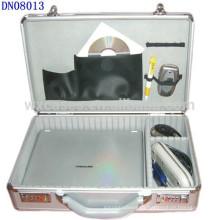 caja de aluminio portable del ordenador portátil con seguridad cerraduras por mayor