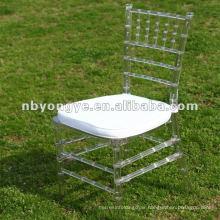 Transparent Clear Resin Chiavari Chair