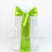 Faixa de cetim, faixa de cadeira, cadeira envoltórios para casamento que
