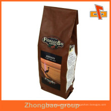 Guangzhou Kunststoff Aluminium Folie Kaffee Zwickel Folie Verpackung Tasche
