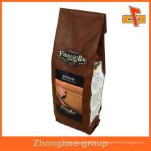Гуанчжоу Пластиковые алюминиевой фольги кофе Gusset фольги упаковка сумка