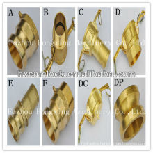 Brass coupling male female reducer