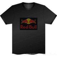 светодиодные футболки на заказ