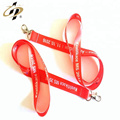 High quality cheap printed grosgrain ribbon embossed with Custom-made logo
