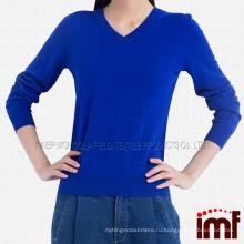 Женские трикотажные вязаные шерстяные свитера