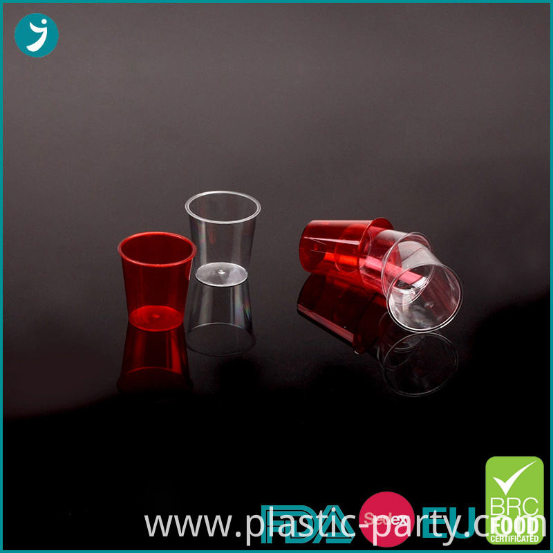 Disposable Plastic Shot Glasses
