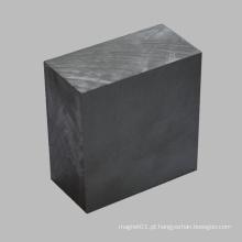 Íman de ferrite permanente Material de cerâmica do bloco retângulo