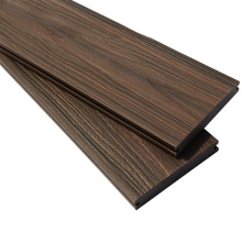 138x23mm en relieve co extrusión wpc decking