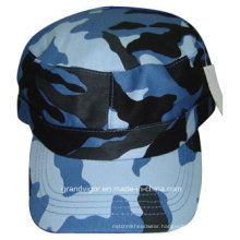 100% Cotton Navy Army Hat with Metal Buckle