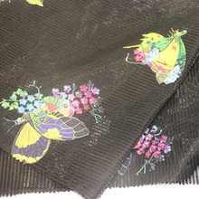 Embroidery Mesh Fabric for Garment