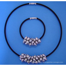 Ensemble de bijoux de perles (SET33)