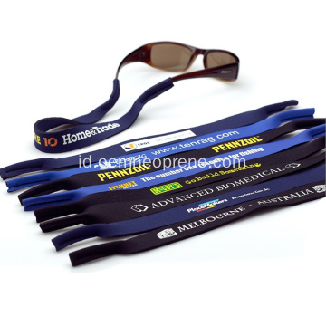 Murah tahan air Neoprene Croakies Glasses Belt