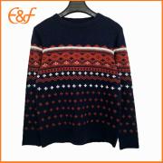 Knitting Pattern Cashmere Wool Sample Sweater For Men