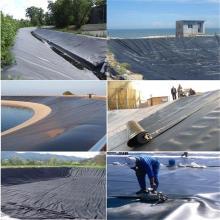 High density polyethylene HDPE geomembranes