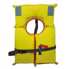Yellow Marine Life Vest