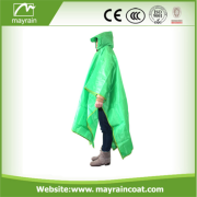 OEM Polyester Raincoat Army Rain Poncho