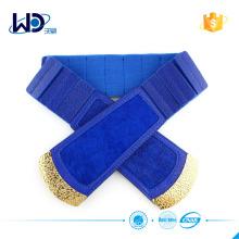 Синий цвет упругой платье женщин пояса
